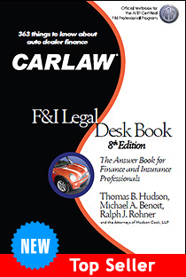 CARLAW F and I Legal Desk Book
