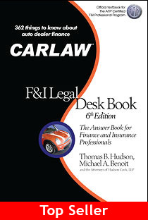 CARLAW F and I Legal Desk Book 6th Edition