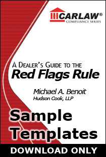 Red Flags Sample Templates