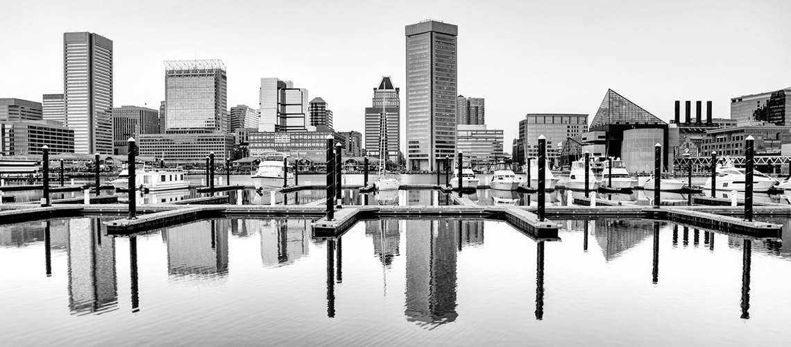 photo of Baltimore skyline